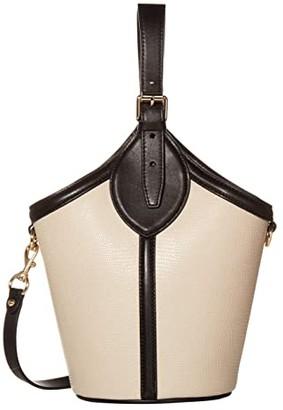 Rebecca Minkoff Pippa Top-Handle (Tahini) Handbags