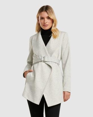 Forever New Mia Wrap Coat