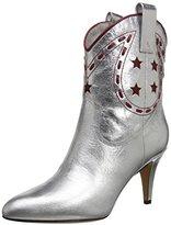 Marc Jacobs Women's Georgia Cowboy Metallic Riding Boot
