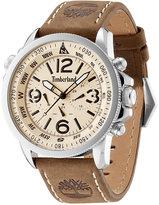 Timberland Men's Camptom Brown Leather Strap Watch 46x53mm TBL13910JS07