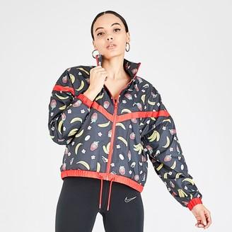 Nike Women's Sportswear Woven Printed Jacket