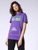 Diesel T-Shirts 0BARK - Violet - M