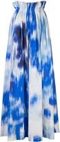Carolina Herrera graphic print A-line skirt