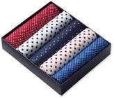 Charles Tyrwhitt Red White and Blue Cotton Handkerchief Box Set