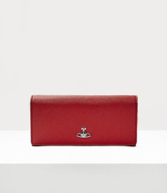 Vivienne Westwood Classic Credit Card Wallet Red