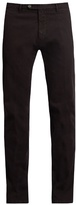 J.w.brine J.W. BRINE James slim-leg stretch-cotton jacquard trousers