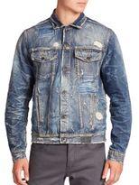 PRPS Distressed Denim Jacket
