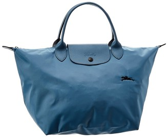 Longchamp Le Pliage Club Small Nylon Short Handle Tote