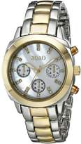 XOXO Women's XO5567 Two-Tone Bracelet Analog Watch