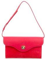 Mansur Gavriel Suede & Leather Shoulder Bag w/ Tags
