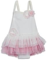Miniclasix Girls' Tutu Swimsuit - Baby