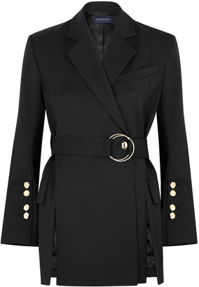 Eudon Choi Alize Black Wool Blazer