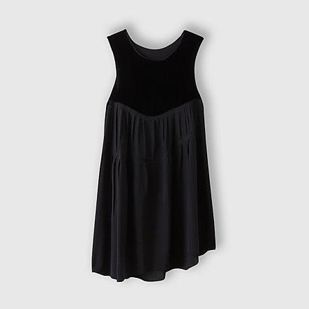 Steven Alan CORRELL CORRELL velvet glocken dress