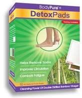 BodyPure Foot Detox Pads by 10 Pads)