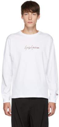 Yohji Yamamoto White New Era Edition Long Sleeve T-Shirt