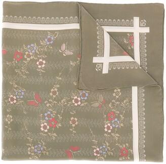 Emanuel Ungaro Pre Owned 1970's Floral Scarf