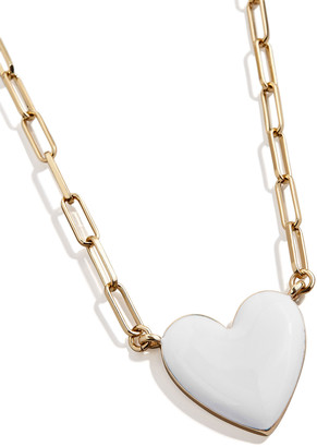 BaubleBar Biance Heart Pendant Necklace