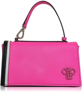 Emilio Pucci Fuchsia Leather Shoulder Bag