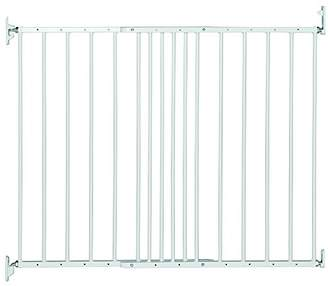 Safetots Extending Metal Gate, 62.5 to 106.8, Black
