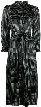 Marc Jacobs Polka Dot Print Shirt Dress