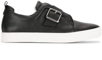 Pierre Hardy Slider Buckle Slip-On Sneakers