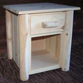 Asstd National Brand Frontier Pine 1-Drawer Nightstand