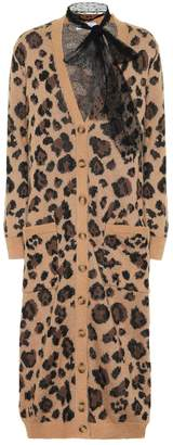 RED Valentino Cotton and mohair-blend cardigan