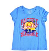 Cherokee Little Girls' Short-Sleeved Graphic T-Shirt
