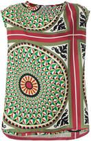 Barena geometric print blouse