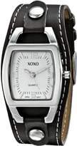 XOXO Women's XO3309 Analog Display Analog Quartz Brown Watch