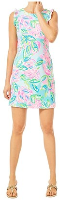 Lilly Pulitzer Carmelisa Shift Dress (Multi Totally Blossom) Women's Dress