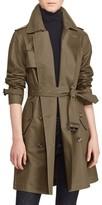 Lauren Ralph Lauren Women's Double-Breasted Trench Coat