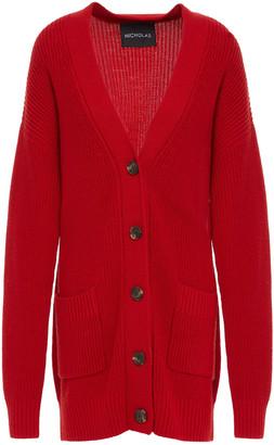 Nicholas Ribbed Wool-blend Cardigan