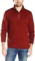 Arrow Men's Long Sleeve Solid 1/4 Zip Shirt