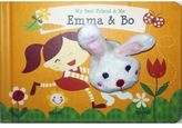 """My Best Friend & Me: Emma & Bo"" Interactive Finger Puppet Book"