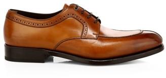 Salvatore Ferragamo Tullio Leather Derby Shoes