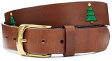 J.Mclaughlin Caerus Leather Belt in Tree