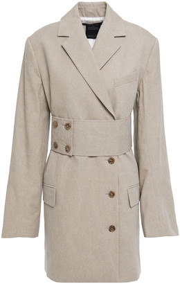 Rokh Belted Cotton-canvas Jacket
