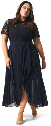 Forever New Curve Saskia 2-In-1 Pleated Curve Dress