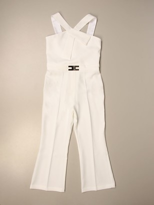 Elisabetta Franchi Jumpsuit With Logo