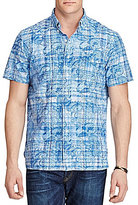 Polo Ralph Lauren Big & Tall Paisley Madras Plaid Short-Sleeve Woven Shirt