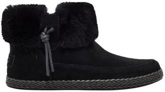 UGG Elowen Sheepskin-Lined Suede Ankle Boots