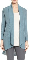 Eileen Fisher Women's Tencel Drape Front Cardigan
