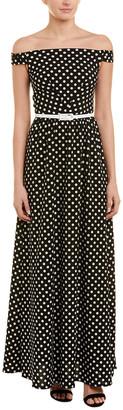 Agata Webers Silk-Blend Maxi Dress