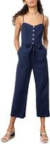 Rails Harper Tie Waist Crop Jumpsuit