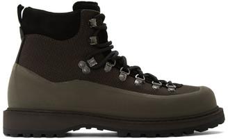 Diemme Brown Canvas Roccia Vet Boots