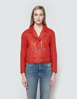 Veda Cal Jacket in Blood Orange
