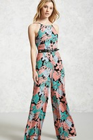 Forever 21 FOREVER 21+ Contemporary Floral Jumpsuit