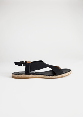 And other stories Cross Strap Sandal