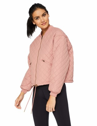 Betsey Johnson Women's Quilted Bomber Jacket